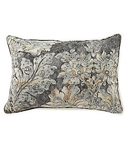 Image of Villa by Noble Excellence Lucca Damask & Script Breakfast Pillow