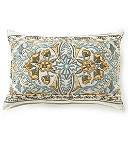 Image of Villa by Noble Excellence Renata Embroidered Breakfast Pillow