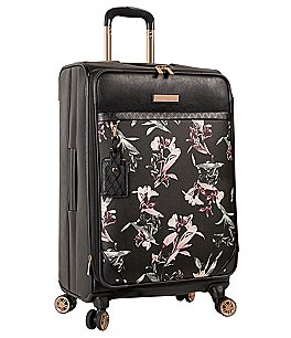 "Image of Vince Camuto Kendahl Black Lilies 24"" Spinner"