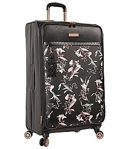 "Image of Vince Camuto Kendahl Black Lilies 29"" Spinner"