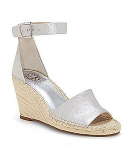 Image of Vince Camuto Leera Ankle Strap Espadrille Wedge Sandals