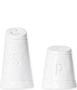 Image of Viva by Vietri Fresh Glazed Stoneware Salt & Pepper Set