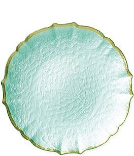Image of Viva by Vietri Pastel Glass Service Plate/Charger