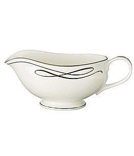 Image of Waterford Ballet Ribbon Gravy Boat