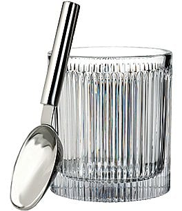 Image of Waterford Crystal Aras Ice Bucket with Ice Scoop