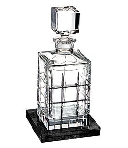 Image of Waterford Crystal Cluin Square Decanter Pair