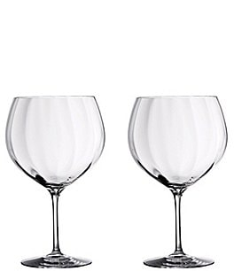 Image of Waterford Crystal Gin Journey's Elegance Optic Balloon Glasses, Set of 2