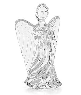 Image of Waterford Crystal Guardian Angel Figurine