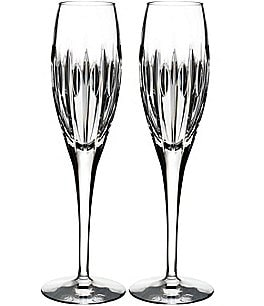 Image of Waterford Crystal Mara Flutes, Set of 2