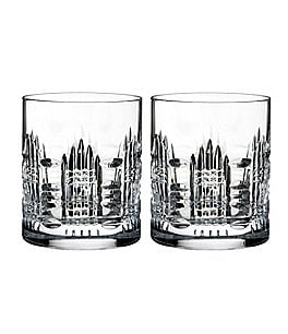 Image of Waterford Dungarvan Crystal Tumblers, Set of 2