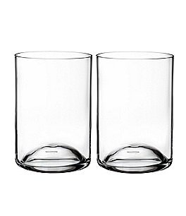 Image of Waterford Elegance Crystal Double Old Fashioned Glasses, Set of 2