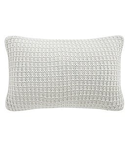 Image of Waterford Florence Chunky Waffle Knit Breakfast Pillow