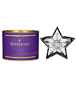 "Image of Waterford Giftology Lismore Star 3.75"" Paperweight"