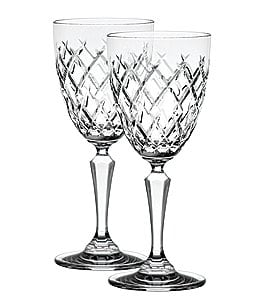 Image of Waterford 2-Piece Gracie Crystal Goblet Set