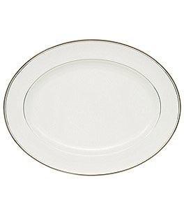 Image of Waterford Kilbarry Platinum Bone China Oval Platter