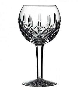 Image of Waterford Lismore Crystal Balloon Wine Glass