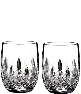 Image of Waterford Lismore Crystal Rounded Tumbler Pair