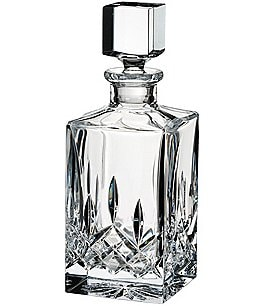 Image of Waterford Lismore Crystal Square Decanter