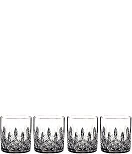 Image of Waterford 4-Piece Lismore Crystal Straight Tumbler Set