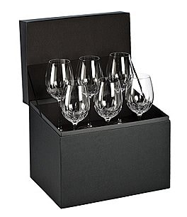 Image of Waterford Lismore Essence 6-Piece Crystal Goblet Boxed Set