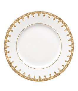 Image of Waterford Lismore Lace Gold Accent Salad Plate
