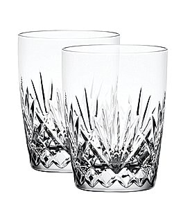 Image of Waterford Neeson Crystal Tumblers, Set of 2