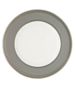 Image of Waterford Newgrange Platinum Celctic Scroll Bone China Accent Salad Plate