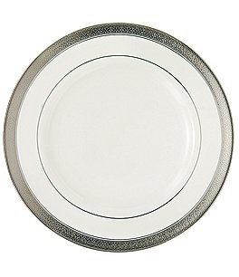 Image of Waterford Newgrange Platinum Celtic Scroll Bone China Salad Plate