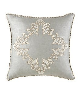 Image of Waterford Olivette Embroidered Square Pillow