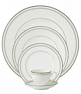 Image of Waterford Padova Bone China 5-Piece Place Setting