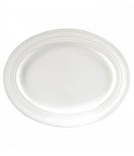 Image of Wedgwood Intaglio Embossed Bone China Platter