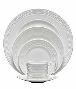 Image of Wedgwood Intaglio Neoclassical Embossed Bone China 5-Piece Place Setting
