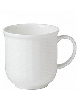 Image of Wedgwood Nantucket Basket Sculpted Bone China Mug
