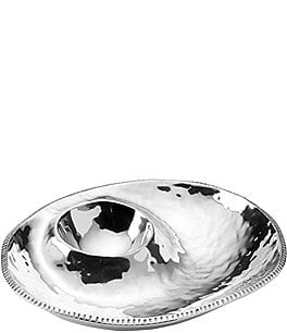 Image of Wilton Armetale River Rock Chip & Dip Server