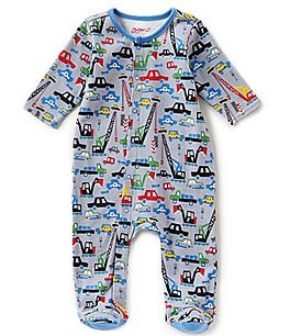 Image of Zutano Baby Boys Newborn-6 Months Big Dig Footed Coverall