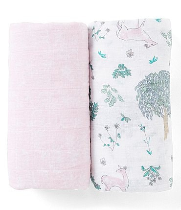 Image of Aden + Anais 2-Pack Muslin Classic Forest Fantasy Swaddle Blankets