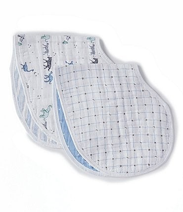 Image of Aden + Anais 2-Pack Muslin Rising Star Burp Bibs