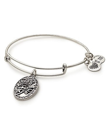 Image of Alex and Ani Mom Charm Bangle Bracelet