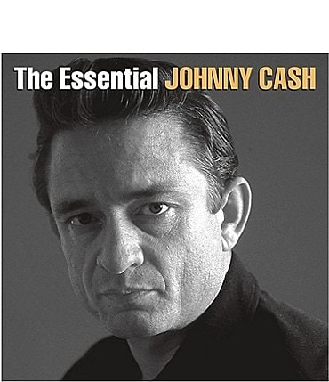 Image of Alliance Entertainment Johnny Cash The Essential of Johnny Cash Record