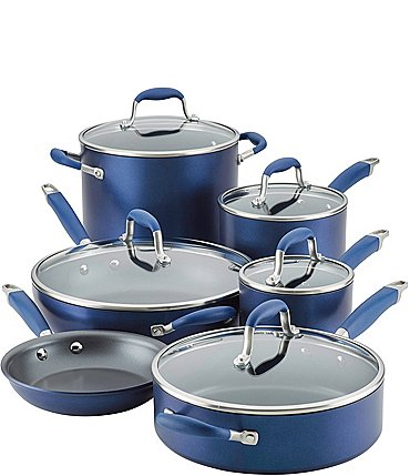 Image of Anolon Advanced Home Hard-Anodized Nonstick 11-Piece Cookware Set