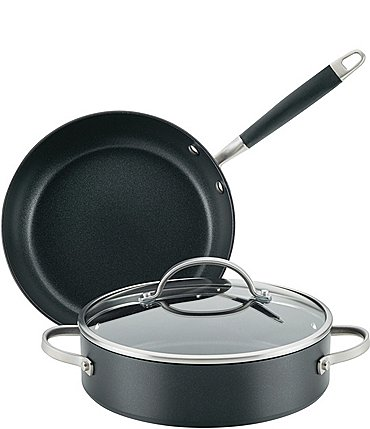 Image of Anolon Advanced Home Hard-Anodized Nonstick 3-Piece Cookware Set