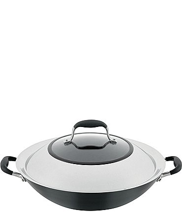 Image of Anolon Advanced Home Hard-Anodized Nonstick Wok with Side Handles