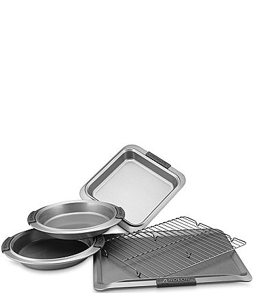 Image of Anolon Advanced Nonstick 5-Piece Bakeware Set with Silicone Grips