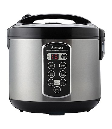 Image of Aroma 20-Cup Sensor Logic Rice Cooker & Food Steamer