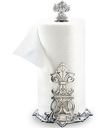 Image of Arthur Court Fleur-de-Lis Paper Towel Holder