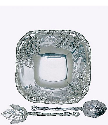 Image of Arthur Court Grape 3-Piece Salad Set