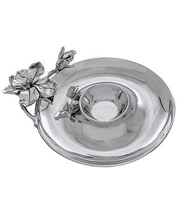 Image of Arthur Court Magnolia Chip & Dip Server