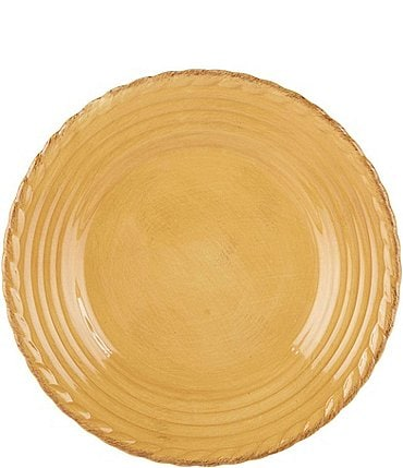 Image of Artimino Tuscan Countryside Rope-Edged Stoneware Salad Plate