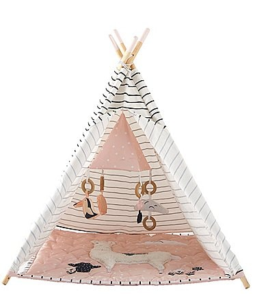 Image of Wonder Wise by Asweets Llama Striped Activity Teepee Play Tent
