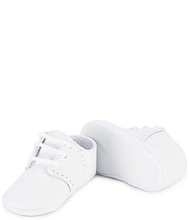 Image of Baby Deer Saddle Oxford Crib Shoes